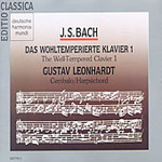 Bach: Well-Tempered Clavier, Book 1 (CD)