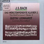 Bach: Well-Tempered Clavier, Book 2 (CD)