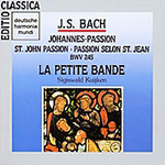 Bach: St. John Passion (CD)