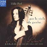Bach: Works for Viola da gamba (CD)