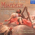 Nebra: Miserere (CD)
