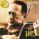 Bach: Sonatas & Partitas (Heifetz Collection Vol 17) (CD)
