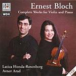 Bloch: Complete Violin and Piano Works (CD)