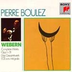 Produktbilde for Webern: Complete Works (USA-import) (3CD)
