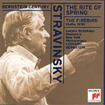 Stravinsky: Rite of Spring; Firebird - Suite (CD)