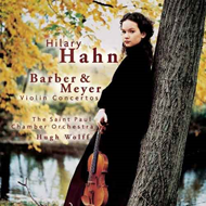 Barber/Meyer: Violin Concertos (CD)