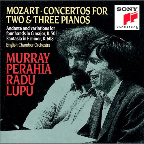 Mozart: Concertos for 2 and 3 Pianos (CD)