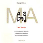 Reber: Two Songs (CD)