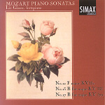 Mozart: Piano Sonatas Nos 12, 13 & 17 (CD)