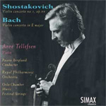 Produktbilde for Shostakovich/Bach: Violin Concertos (CD)