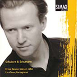 Schubert; Schumann: Works for Cello and Foretepiano (CD)
