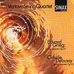 Debussy & Grieg: String Quartets (CD)