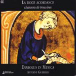 Produktbilde for La Doce Acordance - Chansons de Trouvères (CD)