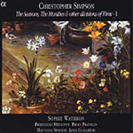Simpson, C: The Seasons and Monthes, Vol 1 (CD)