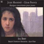 Massenet: Concerto for Piano and Orchestra; Franck: Variations Symphoniques (CD)