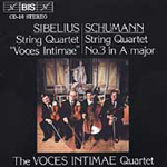 Sibelius & Schumann: String Quartets (CD)