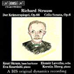Richard Strauss: Der Kramerspiegel; Cello Sonata (CD)