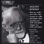 Kodály: Cello Music (CD)