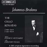 Brahms: Cello Sonatas 1 & 2 (CD)