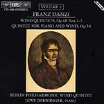 Danzi: Wind Quintets, Volume 3 (CD)