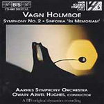 Holmboe: Symphony No 2;Sinfonia in memoriam (CD)