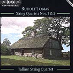 Produktbilde for Tobias: String Quartets Nos. 1 and 2 (CD)