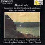 Aho: Symphony No 9; Cello Concerto (CD)