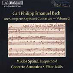 C.P.E.Bach: Keyboard Concertos, Vol. 2 (CD)