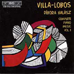 Villa-Lobos: Complete Solo Piano Music, Volume 1 (CD)