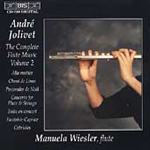 Jolivet: Complete Flute Music, Vol. 2 (CD)