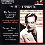Lecuona: Complete Piano Music, Volume 1 (CD)