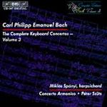 C.P.E.Bach: Keyboard Concertos, Vol. 3 (CD)