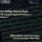 C P E Bach: Complete Keyboard Concertos, Volume 4 (CD)