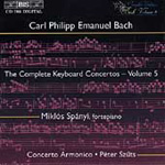 C.P.E.Bach: Keyboard Concertos, Vol. 5 (CD)