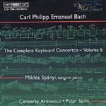 C.P.E.Bach: Keyboard Concertos, Vol. 6 (CD)