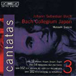 Bach: Cantatas, Vol. 3 (CD)