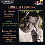 Lecuona: Complete Piano Music, Volume 3 (CD)