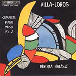 Villa-Lobos: Piano Music, Volume 2 (CD)