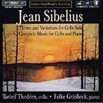 Sibelius: Works for Cello and Piano (CD)