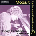 Mozart: Piano Sonatas, Vol. 1 (CD)
