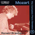 Mozart: Piano Sonatas, Vol. 5 (CD)