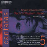 Bach: Cantatas, Vol. 5 (CD)