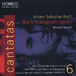 Bach: Cantatas, Vol. 6 (CD)