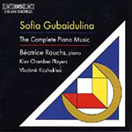 Gubaidulina: Complete Piano Music (CD)