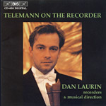Telemann On The Recorder (CD)