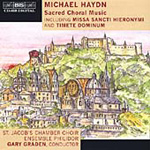 Michael Haydn: Sacred Choral Music (CD)