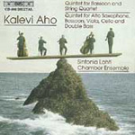 Produktbilde for Aho: Wind Quintets (CD)
