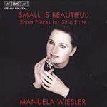 Small is Beautful - short pieces for flute (CD)
