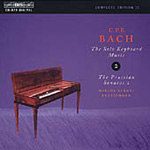 CPE Bach - Solo Keyboard Music, Volume 2 (CD)