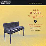 C P E Bach: Solo Keyboard Works, Vol 3 (CD)